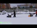 Сравнение в работе 2-х и 3-х ступенчатых снегоуборщиков Cub Cadet HD, Wolf Garten HD